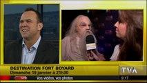 """Fort Boyard Québec 2014 : promotion de Dave Morissette dans """"Salut Bonjour"""" (TVA)"""