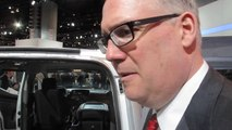 Ed Peper, GM VP, Fleet and Commercial Sales on the 2015 Chevrolet City Express van  Bob Giles NewCarNews.TV