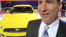 2015 Ford Mustang Design Changes --Steven Ling NA Car Marketing Manager Ford Division Chicago Auto Show -- Bob Giles NewCarNews.tv