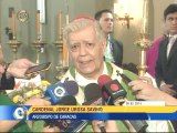Jorge Urosa Savino dio la bienvenida al nuevo Nuncio Apostólico de Venezuela