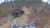 Buggy And Dirt Bike Offroading   Crash