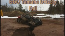 Yamaha Grizzly 660 ATV Fail
