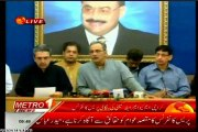 MQM Rabita Comittee Press Conference for extra judicial killings and unlawful arrests of MQM Workers