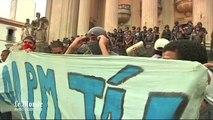 Rio de Janeiro : des milliers de manifestants contre la hausse du prix des transports