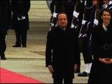 François Hollande est arrivé aux Etats-Unis pour une visite de trois jours - 10/02