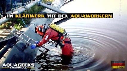 Im Klärwerk mit den Aquaworkern