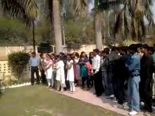 Hasya Poet Manas Khatri at BIT Allahabad, Republic Day Celebration! (PART-1)