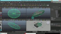 Maya Tutorials in Tamil 12. Working With Channel Box  Input Shapes