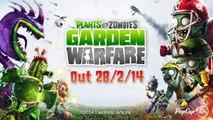 Plants vs Zombies Garden Warfare - Plants vs Zombies Gameplay Trailer