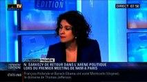 Politique Première: Nicolas Sarkozy revient dans l'arène politique lors du meeting de Nathalie Kosciusko-Morizet à Paris - 11/02