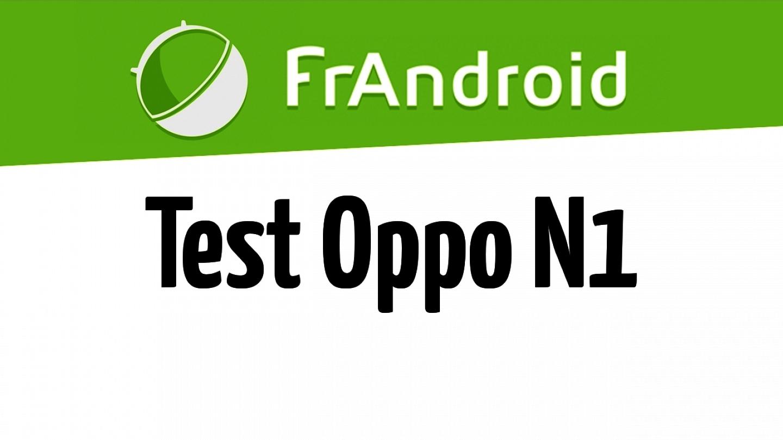 Test de l'Oppo N1