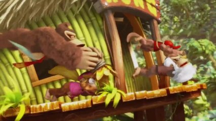 Donkey Kong Country : Tropical Freeze opening de Donkey Kong Country : Tropical Freeze