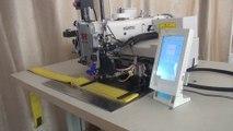 Maquina de costura programable con corta-hilos automático