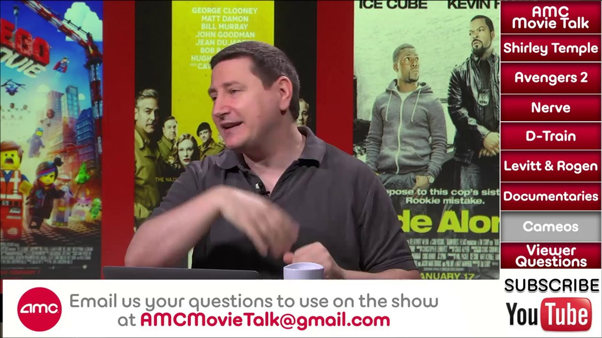 AMC Movie Talk - AVENGERS 2 Starts Shooting, Shirley Temple