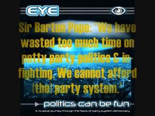 "Australian SynthPunk DigitalHardCore ElectroRock - EYE: ""Democracy?!?"" - CyberPunk DancePunk Music"