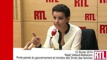 """Vallaud-Belkacem : """"Je suis extrêmement choquée par le comportement de Jean-François Copé"""""""