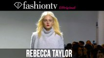 Rebecca Taylor Fall/Winter 2014-15 Show | New York Fashion Week NYFW | FashionTV