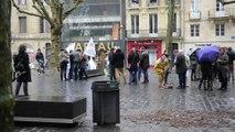 Manifestation de la LICRA, contre la venue d'Alain Soral à Bordeaux le 8.2.2014