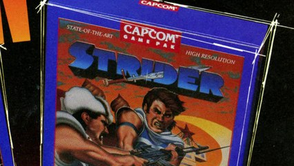 A Capcom Retrospective de Strider