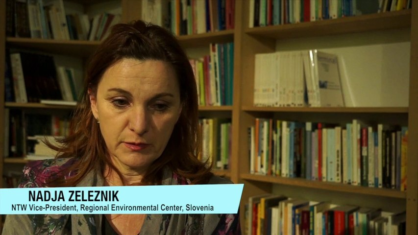 NTW / Nuclear issues :the context in Slovenia with Nadja, Vice-President.