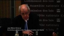 """Actualités : Lieux de privation de liberté,  Jean-Marie Delarue dénonce """"la peur des représailles"""""""