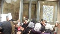 Oser Paris ? Les mal-logés manifestent devant le local d'Anne Hidalgo