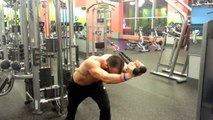 Workout: Triceps Exercises, Skull Crushers, Dumbbell Overhead Extensions, & Cable Extensions