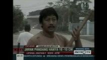 Pluie de cendres en Indonésie