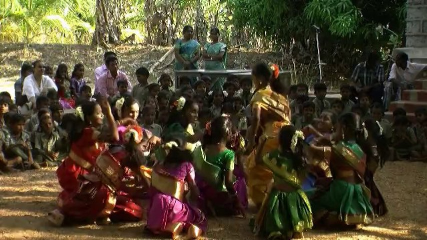 The Love caravan in India (Salem-Assisi School)