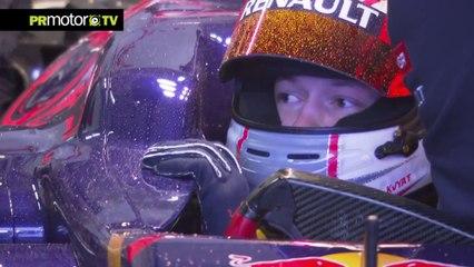 Formula Uno Scuderia Toro Rosso 2014 Filming Day in MIsano Daniil Kvyat & Jean-Eric Vergne (HD)