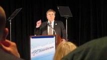 Toyota Senior VP Bob Carter on expected 2014 vehicle sales. Chicago Auto Show. Bob Giles NewCarNews.TV.