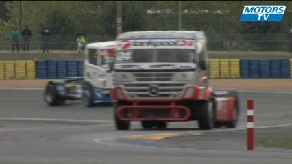 FIA European Truck Racing at Le Mans - David Marco Bermejo Crash
