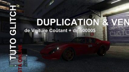 GTA Online - Tuto Glitch Argent illimité Duplication/Vente de Voitures de + 50 000$ - Après Patch 1.09
