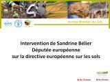 1ere journée mondiale des sols : Sandrine Belier