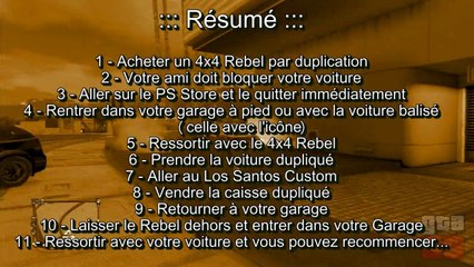 GTA Online - Tuto Glitch Argent Infini #3 Duplication & Vente Supercar - Patch 1.09