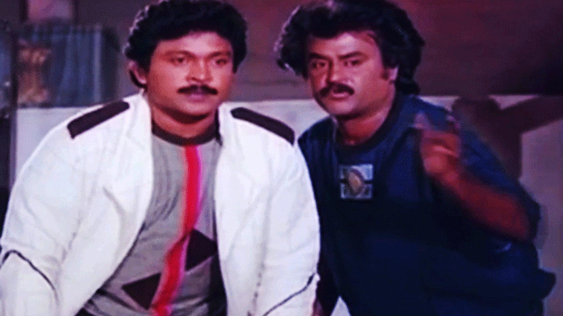 Rajnikanth Ultimate Action | Guru Sishyan | Tamil Film