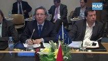M Rebbah, s'entretient avec une délégation de parlementaires et de chefs d'entreprise européens