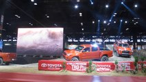 TOYOTA TRD Pro Series Trucks Reveal including Tundra, Tacoma and 4Runner Chicago Auto Show NewCarNews.TV Bob Giles