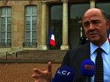 """Moscovici: """"0,3 ce n'est pas assez, mais ça prouve que notre économie est résiliente"""" - 14/02"""