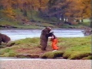 L'ours contre l'homme