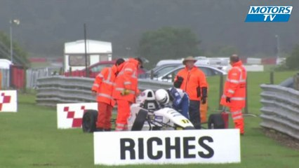 2012 MSA Formula Ford Championship Crash at Snetterton
