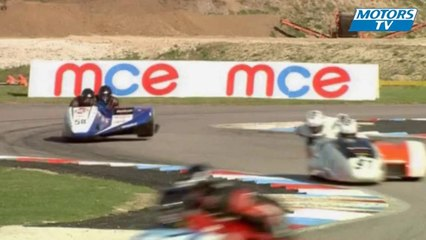 2012 British F1 Sidecar Championship Crashes