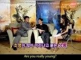 JACKIE CHAN AND JET LI - FORBIDDEN KINGDOM INTERVIEW - Entertainment/Martial Arts/Movies