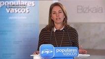 """Arantza Quiroga pide """"construir el futuro asumiendo la pluralidad"""""""