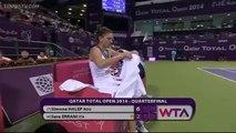 Simona Halep vs Sara Errani QF Doha 2014 Full Match HD