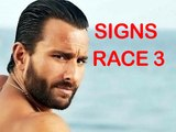Saif Ali Khan Part Of Race 3 | Latest Bollywood Updates