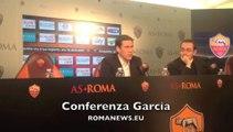 Rudi Garcia in conferenza stampa 15/02/14
