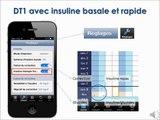 Diabphone Carnet:  description des différents carnets selon le type de diabète et le mode de traitement