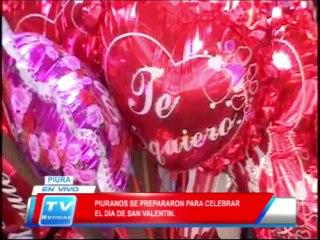 Piuranos se preparar para celerar el día de San Valentín 14 02 14