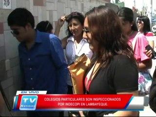 Chiclayo: Colegios particulares seran inspeccionados 14 02 14
